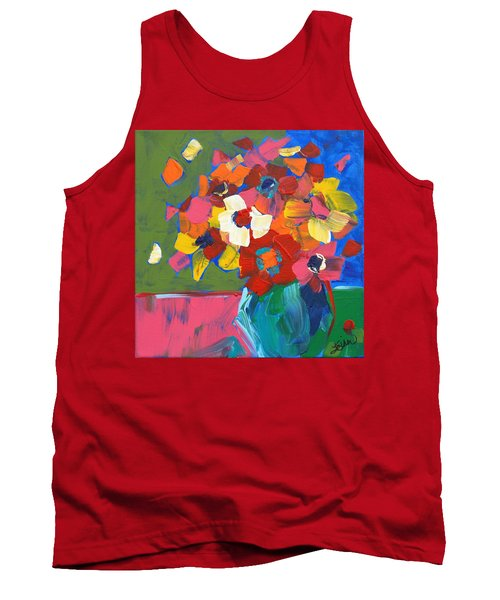 Abstract Vase Tank Top
