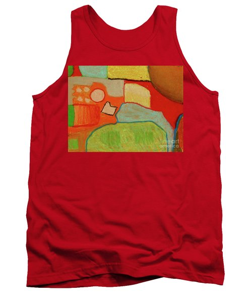 Abstraction123 Tank Top by Paul McKey
