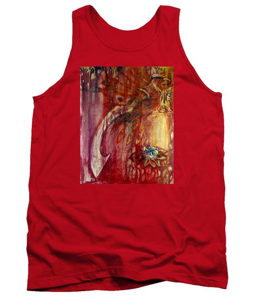 Ace Of Swords Tank Top by Ashley Kujan