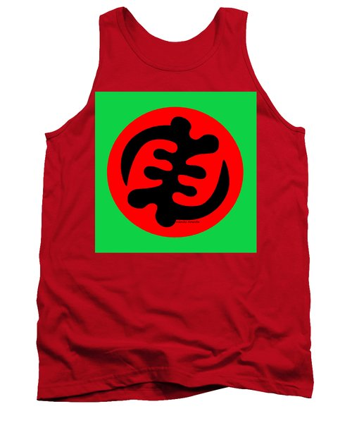 Adinkra Symbol Gye Nyame Except God Only God Tank Top