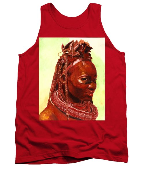 African Beauty Tank Top