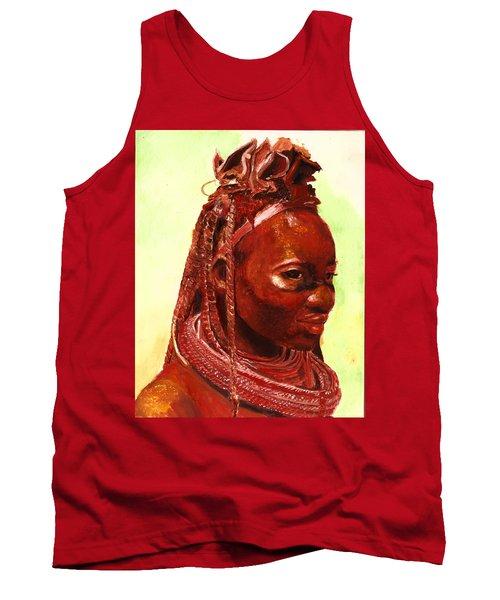 African Beauty Tank Top
