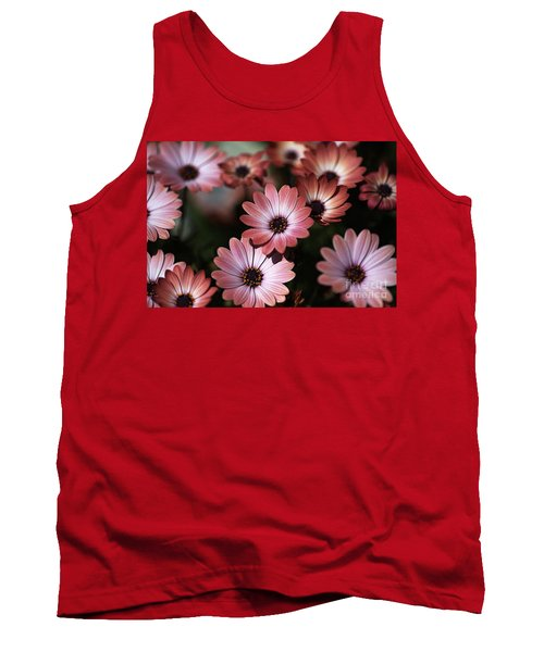 African Daisy Zion Red Tank Top