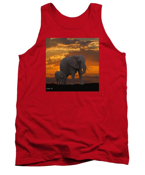 African Sunset-k Tank Top