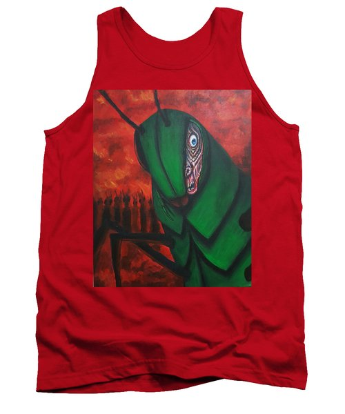 After Bob Died He Realized He Had Made Poor Life Choices. Tank Top by Chris Benice