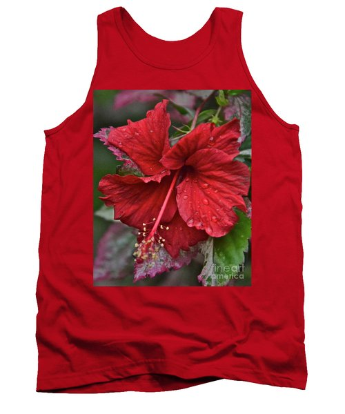 Tank Top featuring the photograph After The Rain by Carol  Bradley