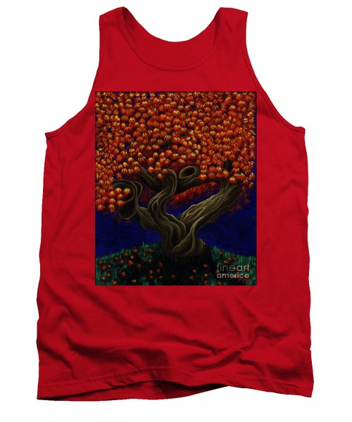 Aged Autumn Tank Top