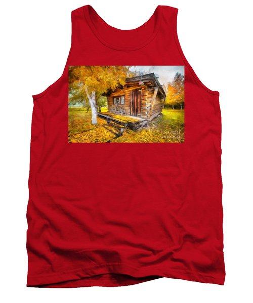 Alaskan Autumn Tank Top