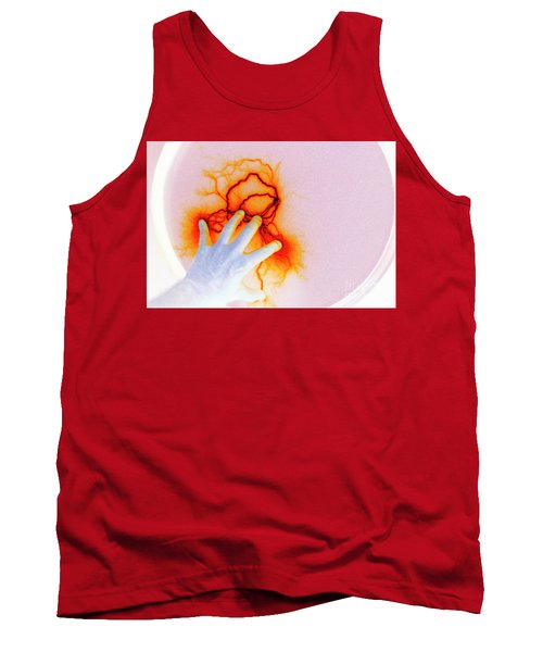 Tank Top featuring the photograph Alien Encounter Outside Looking In by Paul W Faust - Impressions of Light