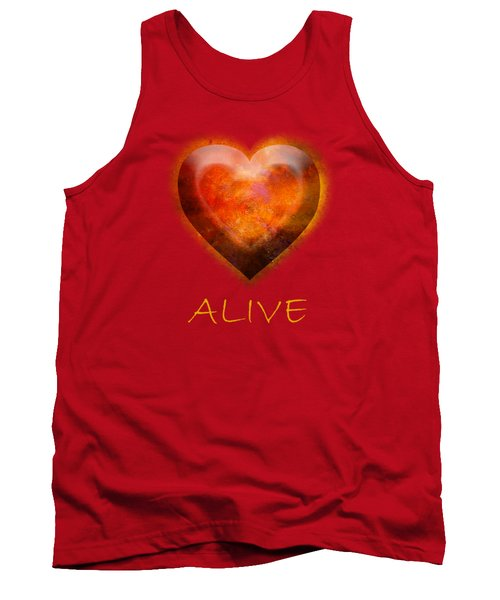 Fire Of Your Heart Tank Top