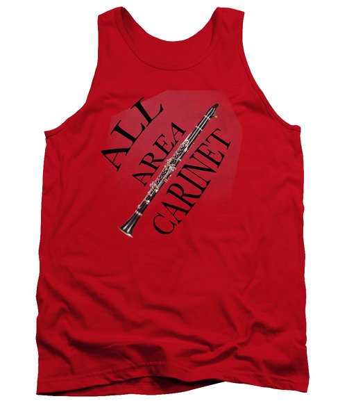 All Area Clarinet Tank Top by M K  Miller