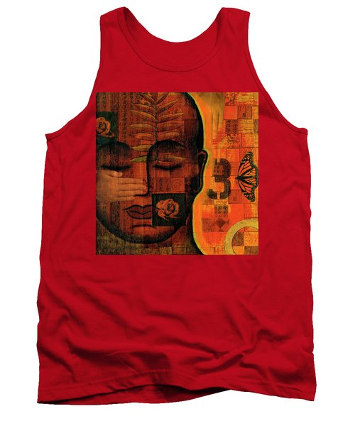 Tank Top featuring the painting All Seeing by Gloria Rothrock