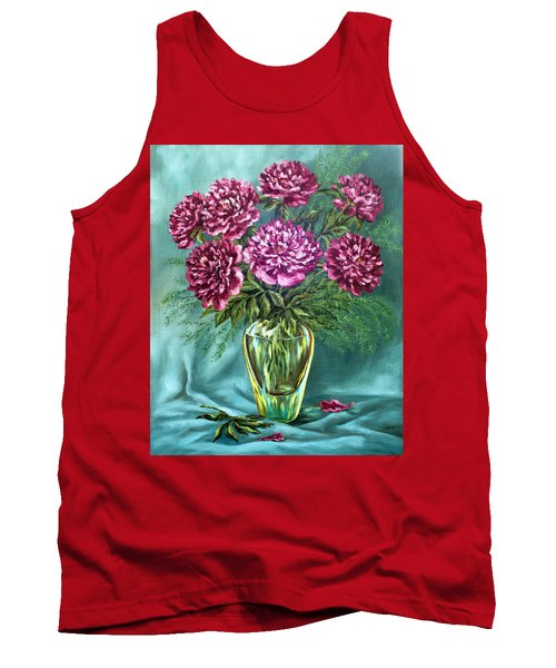 Tank Top featuring the painting All Things Beautiful by Karen Showell