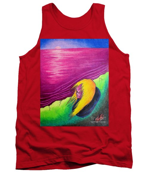 Alone Tank Top by Michael  TMAD Finney
