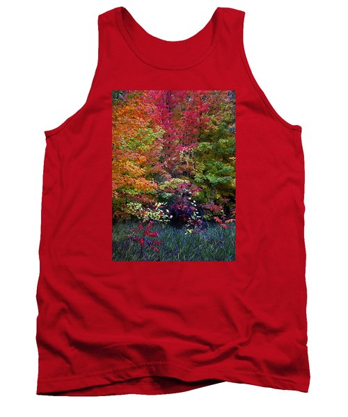 Along M37 In Autumn 2014 Tank Top