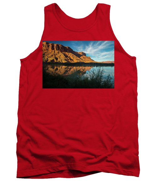 Tank Top featuring the photograph Along The Colorado by Gary Lengyel