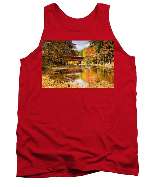 Along The Swift River Tank Top