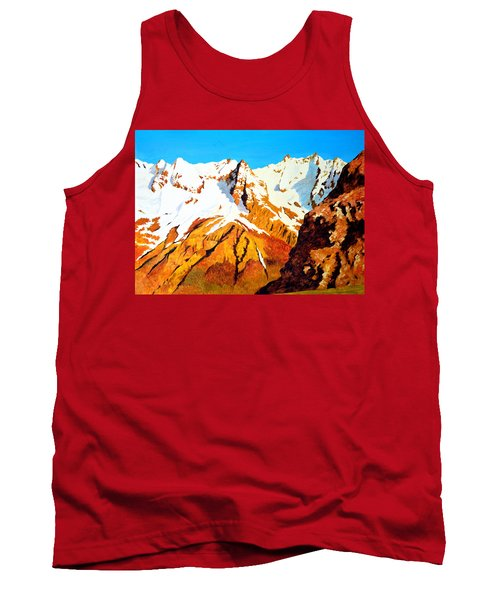 Alpine Landscape Tank Top