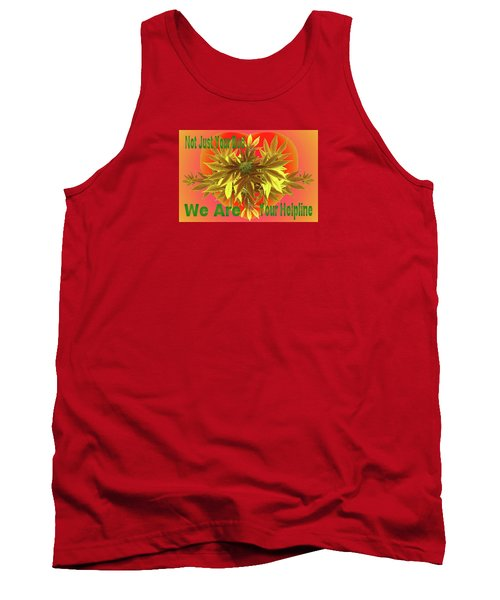 Tank Top featuring the mixed media Alternative Medicine by Mike Breau