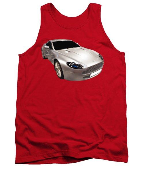 Am Sports Car Art Tank Top