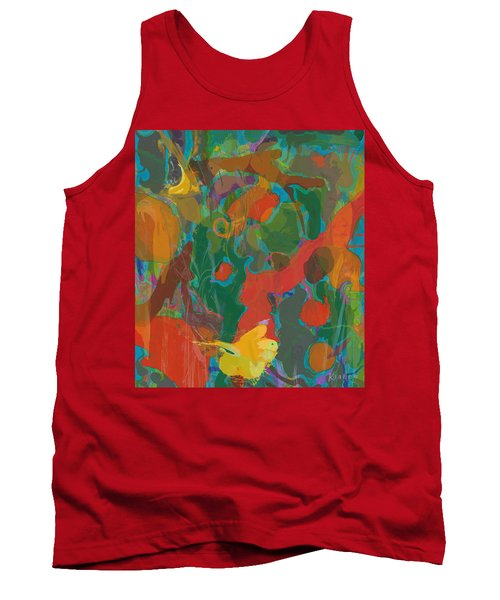 Tank Top featuring the painting Amazon by David Klaboe
