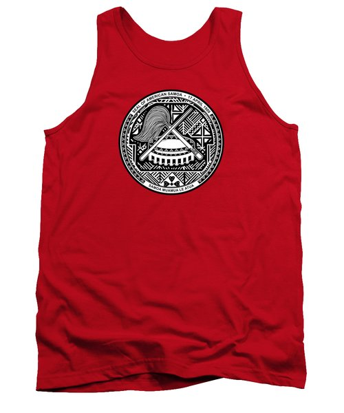 American Samoa Seal Tank Top by Movie Poster Prints