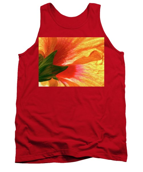Tank Top featuring the photograph Angel Brushstrokes  by Marie Hicks