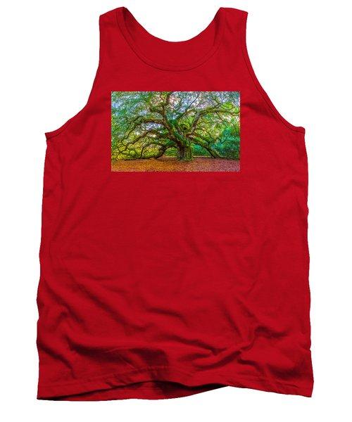 Angel Oak Tree Charleston Sc Tank Top