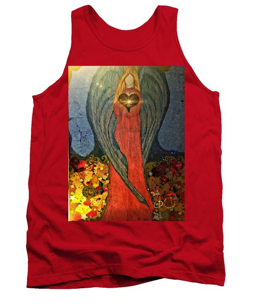 Angel Sails Waves Of Love Tank Top