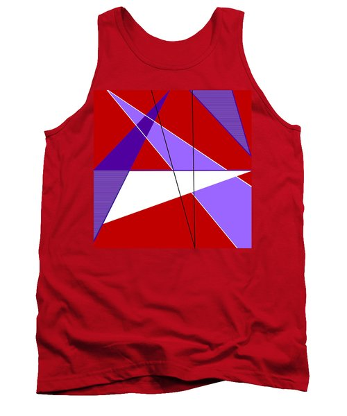Angles And Triangles Tank Top