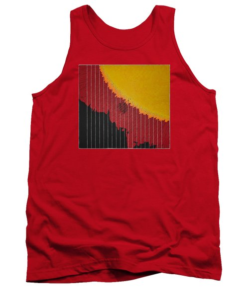 Anomaly At The Sun Tank Top