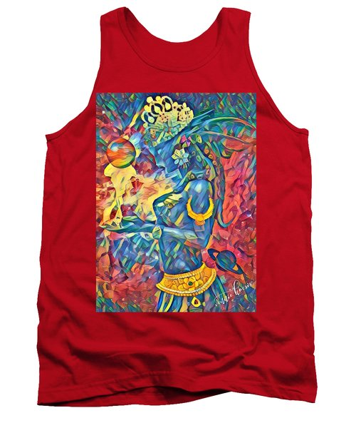Answering The Call Tank Top