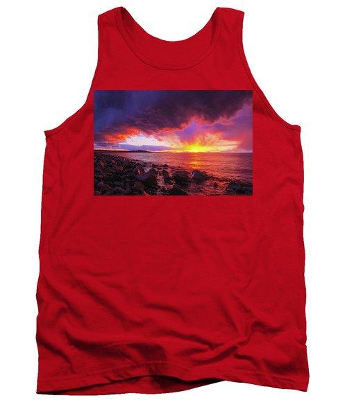 Antelope Island Sunset Tank Top