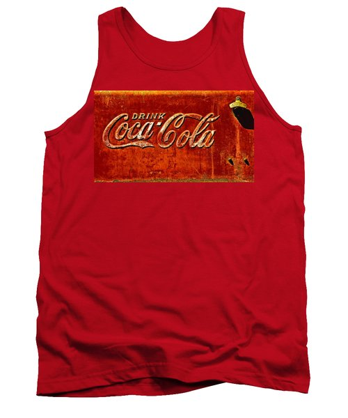 Antique Soda Cooler 3 Tank Top