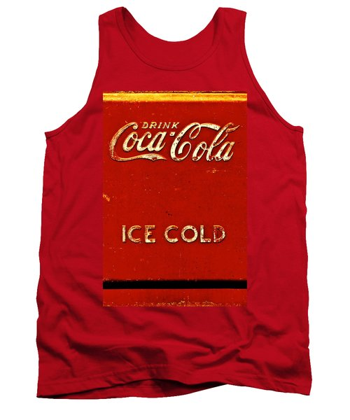Antique Soda Cooler 6 Tank Top