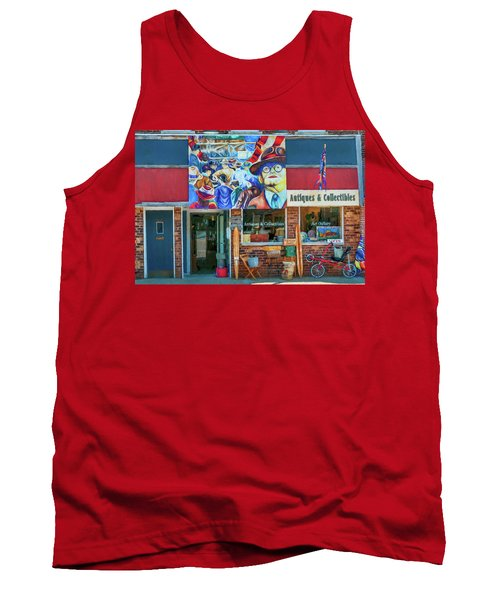 Antiques And Collectibles Tank Top by Trey Foerster