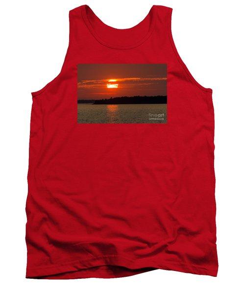 Apostle Island Sunset Tank Top