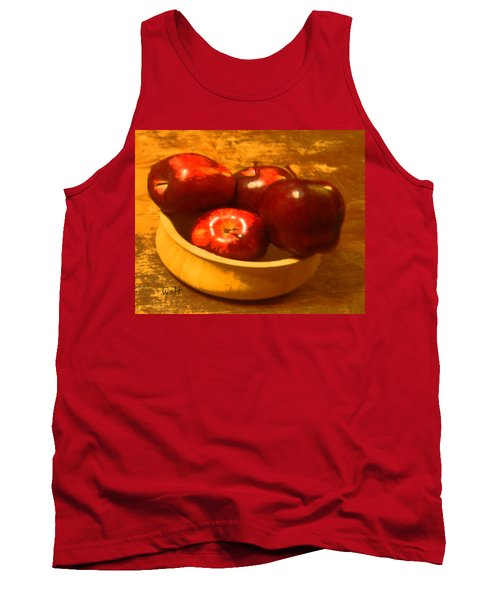 Apples In A Bowl Tank Top