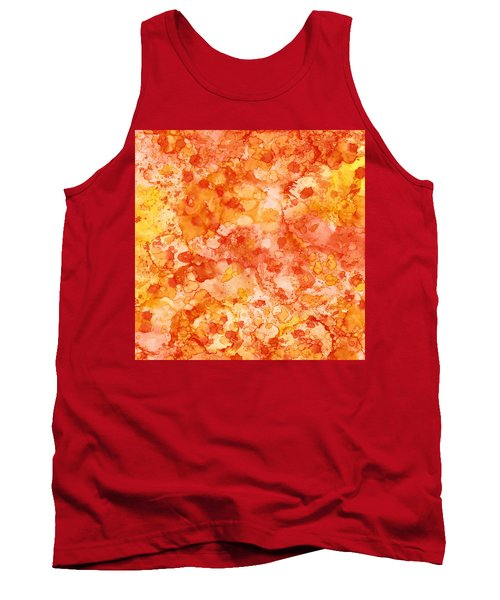 Apricot Delight  Tank Top by Patricia Lintner