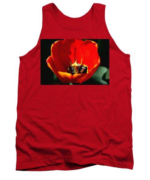April Tulips Tank Top