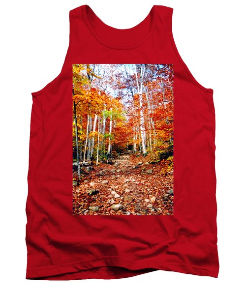 Arethusa Falls Trail Tank Top by Greg Fortier