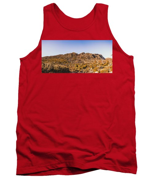 Arid Australian Panoramic Tank Top