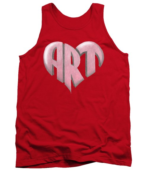 Art Heart Tank Top