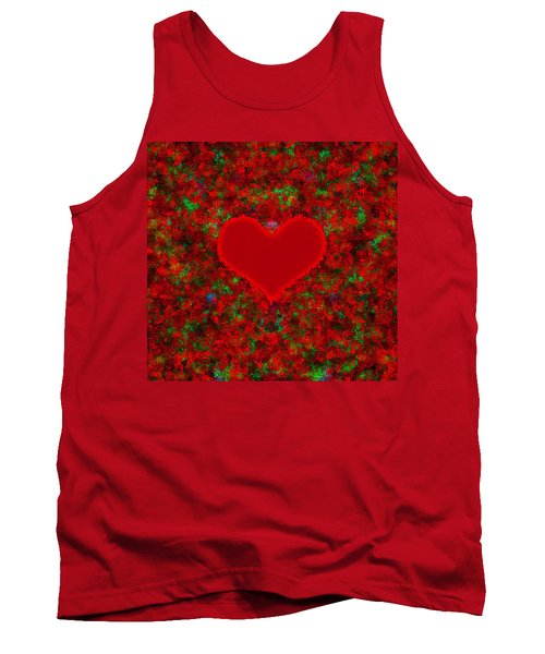Art Of The Heart 2 Tank Top by Anton Kalinichev