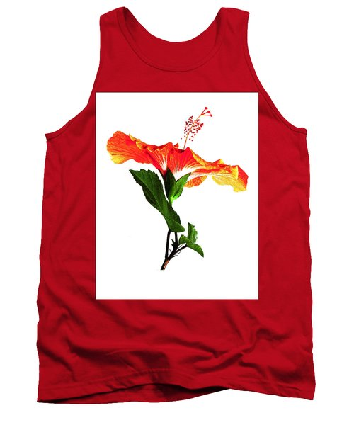 Art Orange Tank Top