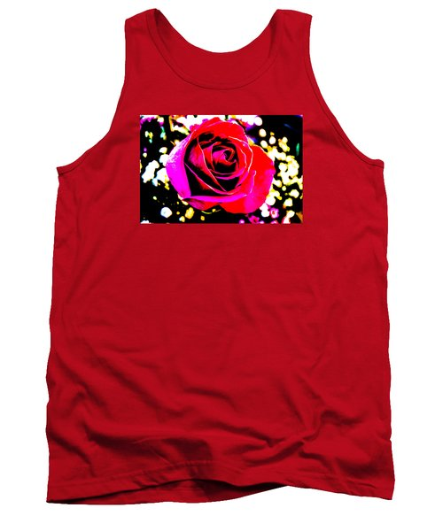 Artistic Rose - 9161 Tank Top by G L Sarti
