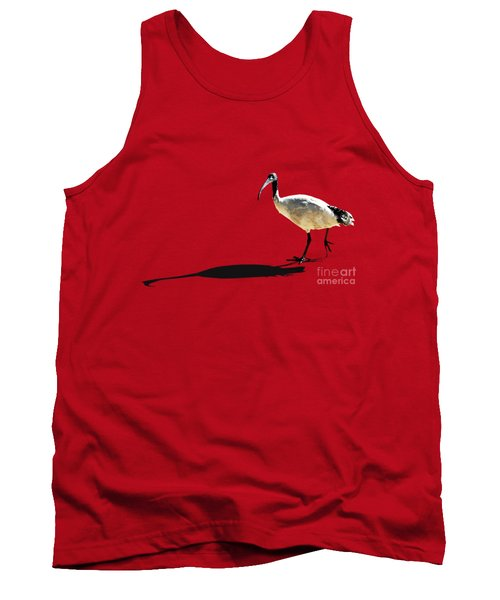 Bribie Island Ibis Tank Top by Susan Vineyard