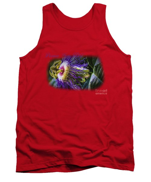 Passion Gone Wild - Product Design Tank Top by Barry Jones