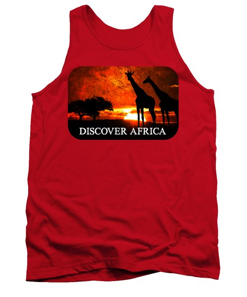 African Safari Tank Top