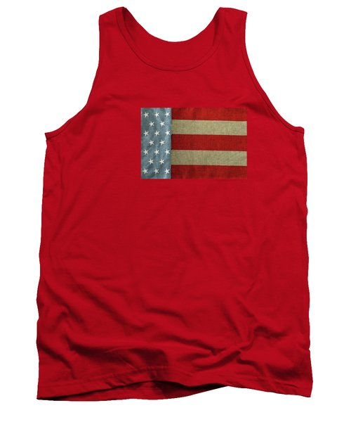 Tank Top featuring the photograph The Flag by Tom Prendergast
